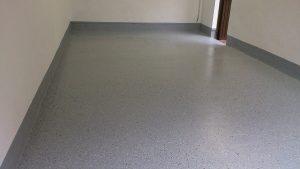 Garagenboden - fertiggestellt