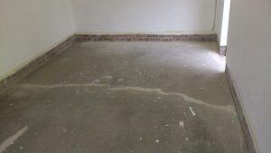 Garagenboden - vorbereitende Aufgaben