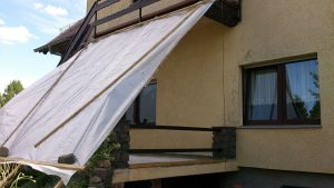 Terrassenbelag Vorbereitung
