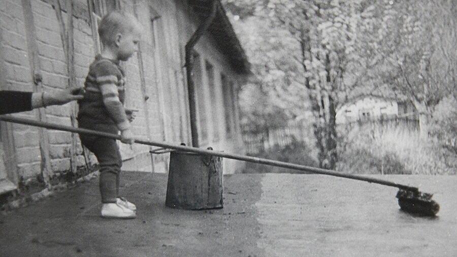 Von klein auf ein Handwerker!