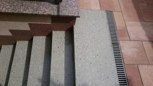 Treppenversiegelung