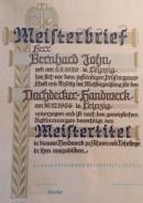 Meisterbrief Bernhard John